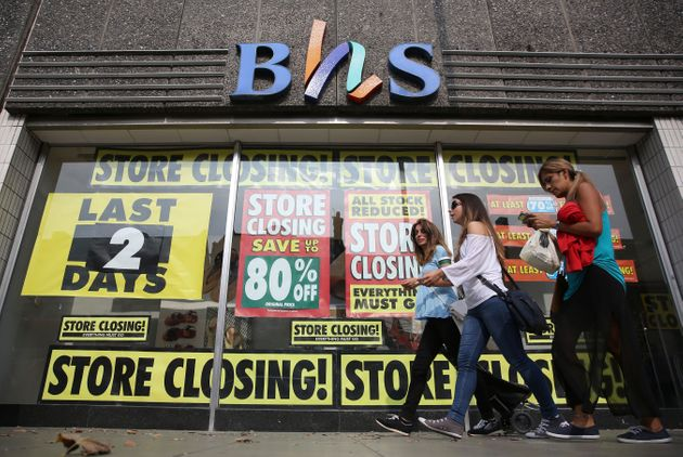 BHS is expected to disappear from the high street today as its last stores close, ending 88 years of...
