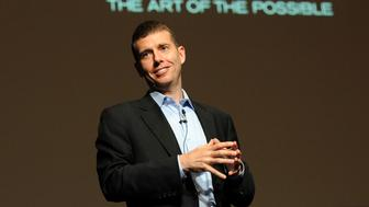 David Plouffe, former campaign manager of U.S. President Barack Obama, delivers a speech during a session at the Cannes Lions 2009 International Advertising Festival June 25, 2009.     REUTERS/Alain Issock (FRANCE BUSINESS)