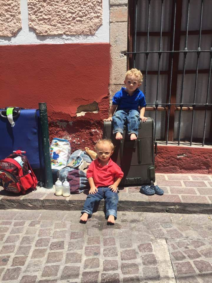 Our first day in Guanajuato, Mexico.