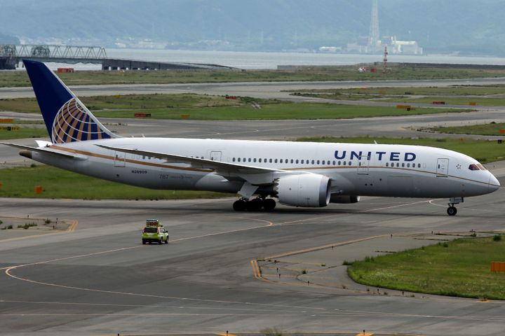 Two United Airlines pilots were arrested Saturday in Scotland after they were allegedly found drunk on a New Jersey-bound pla