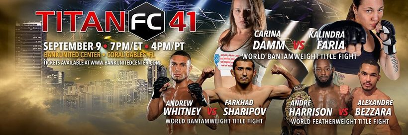 """<a href=""""bit.ly/Titan41"""" target=""""_blank"""">Titan 41 Tickets</a>&nbsp;are available and the event is LIVE on UFC Fight Pass"""