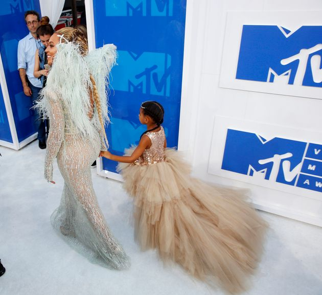 VMAs 2016: Beyoncé Took Blue Ivy As Her Date To The VMAs And Gave Us Mother-Daughter