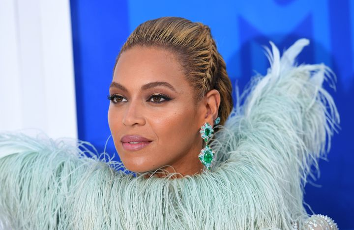 Beyonce attends the 2016 MTV Video Music Awards on August 28, 2016 at Madison Square Garden in New York.