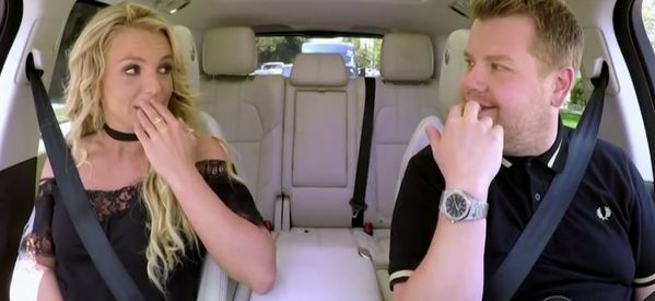 Britney Spears Opens Up About 'Awkward' Carpool Karaoke Experience