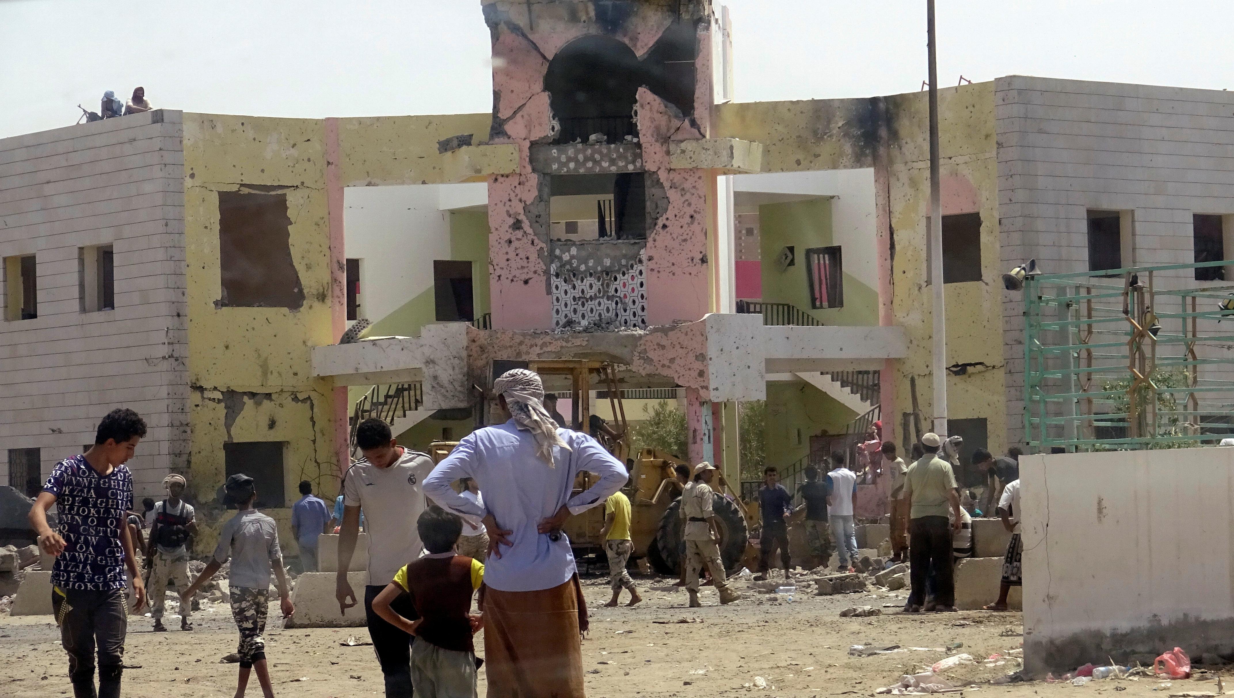 Suicide Car Bomber Attacks Militia Compound, Killing At Least 54 In