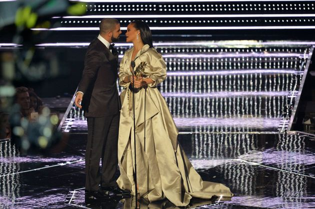 Drake and Rihanna share intimate moment on social media following VMAs