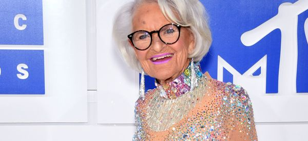 Baddie Winkle Steals The Show On The VMAs Red Carpet