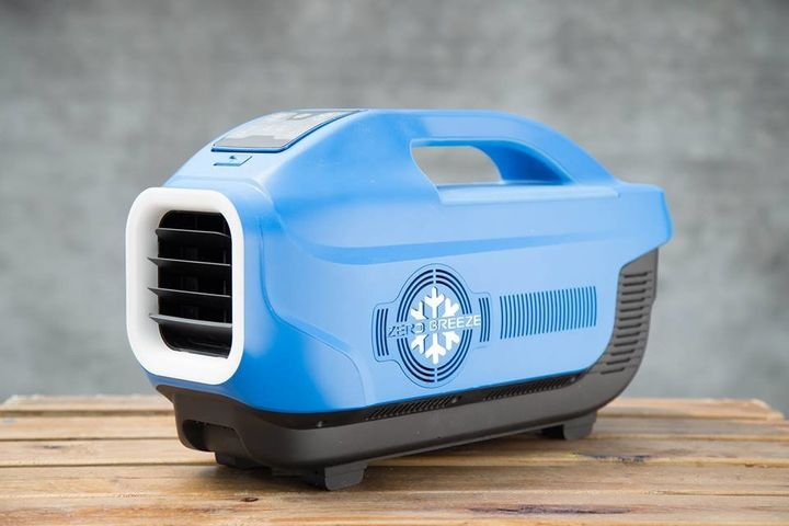 This Tiny Portable Air Conditioner Makes Going Outside A