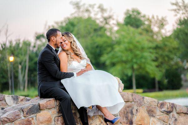 """""""Jose Luis and Sheilla Guzmanmarried atRegency at Dominion Valley Golf Club inHaymarket, Virginia on August"""