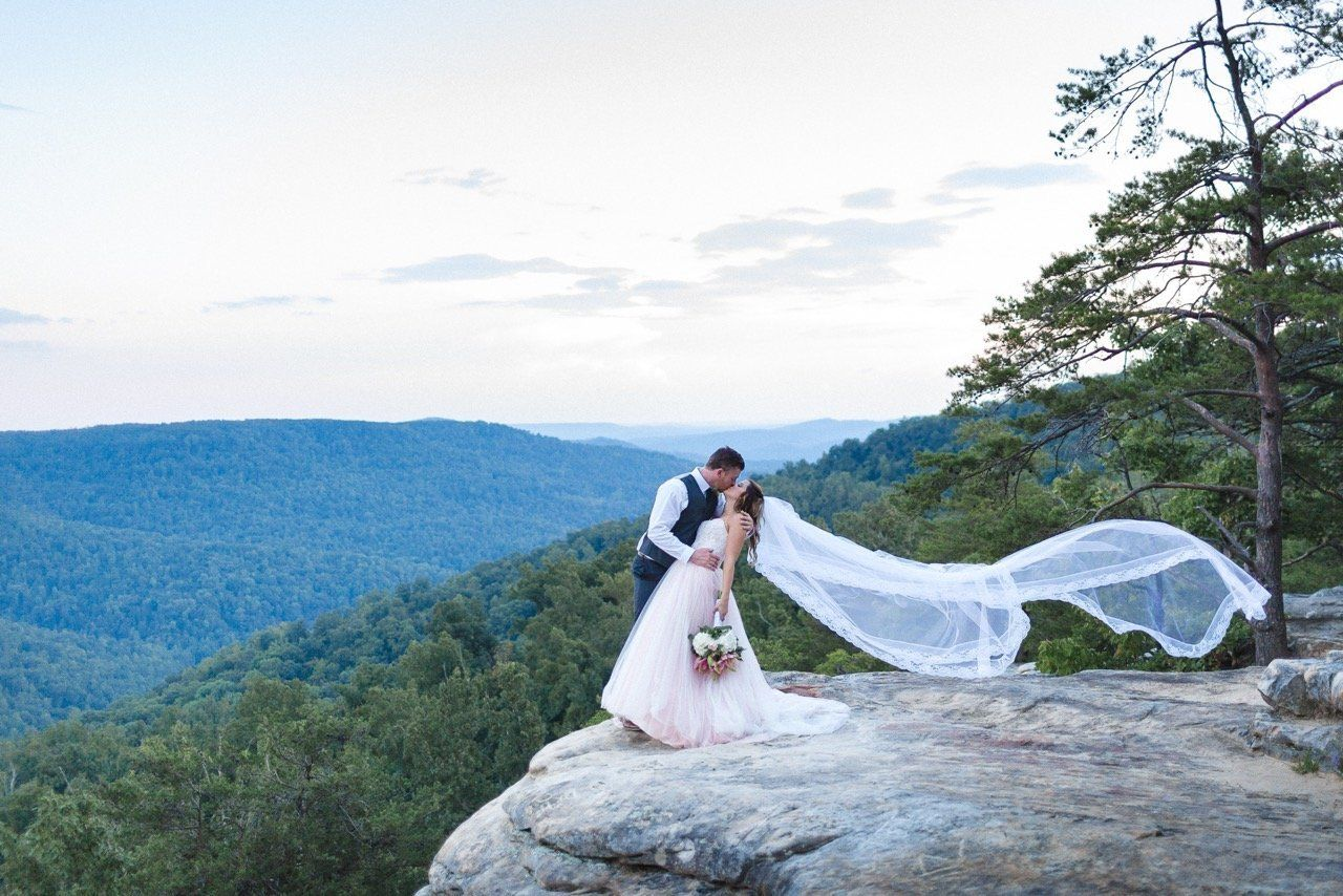 """""""Becky and Seann stumbled across this beautiful setting for their wedding and we were more than happy to join them on the led"""