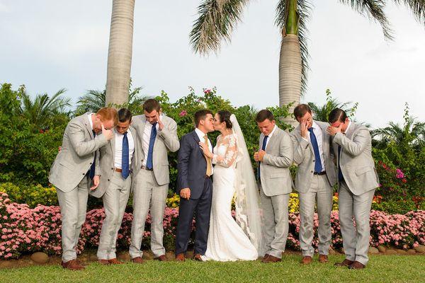 """Ray andShannon Peru married at Villa Tranquila in Guanacaste, Costa Rica."" --<i>Shannon Peru</i>"