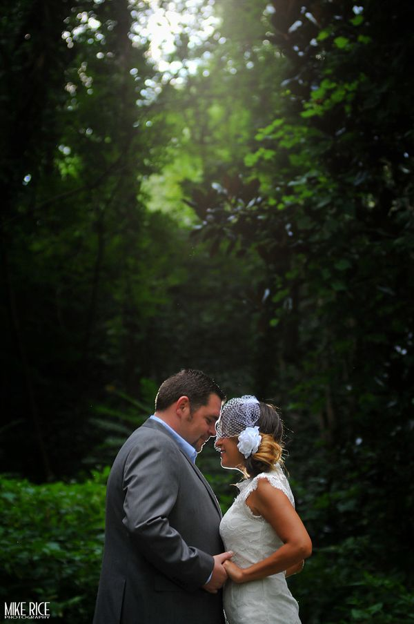"""""""Josh and Susana had a lovely wedding in the Historic Montford area of Asheville, North Carolina."""" -- <i>Mike Rice</i>"""