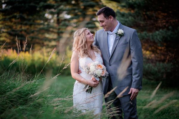 """""""Angela and John, who both live in Texas, got married in Bangor, Maine this past Saturday."""" --<i>Christophe Zydek</i>"""