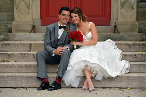"""""""Dorothy and Michael were married in London, Ontario this Saturday."""" --<i>Heather MacEachern</i>"""