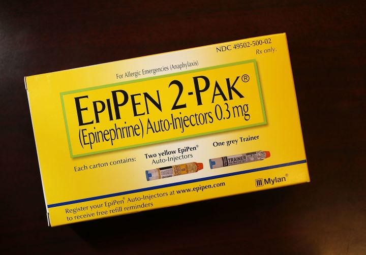 Mylan came under fire for hiking up the price of the EpiPen.