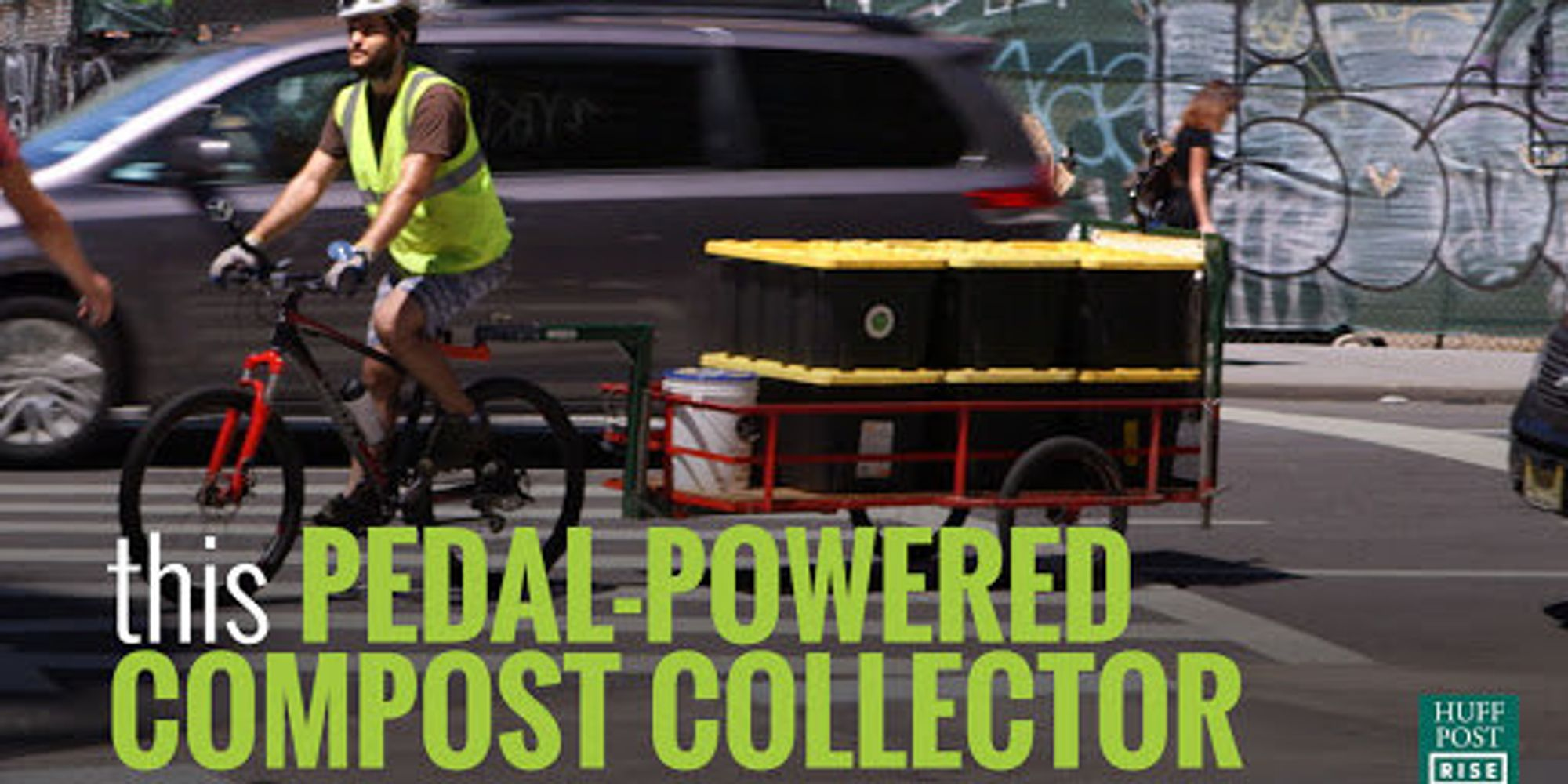 A Compost-Collecting Bicycle Is Helping Reduce Food Waste In New York