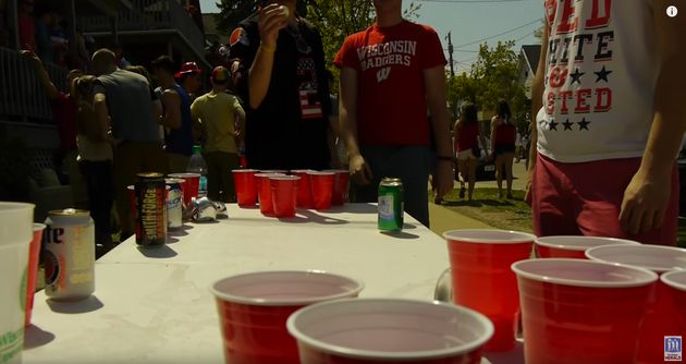 UW Madison is ranked the top party school for