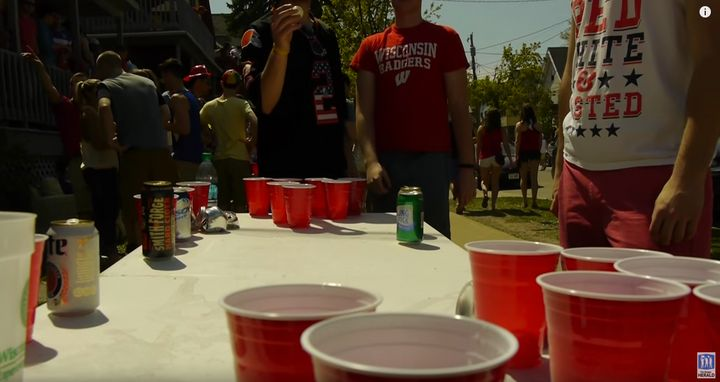 UW Madison is ranked the top party school for 2017.