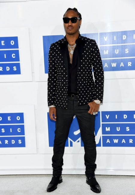 Future's all-black look, topped off with a killer tuxedo jacket, is proof that sometimes you don't need to reinvent menswear in order to be the best-dressed guy in the room.