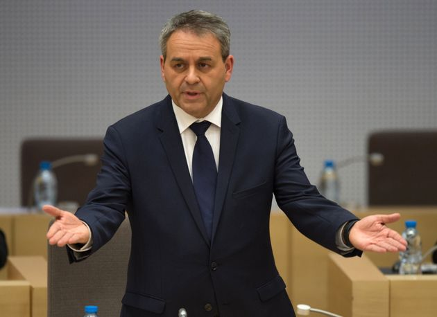 Xavier Bertrandhas called for action to deal with the sprawling Jungle migrant