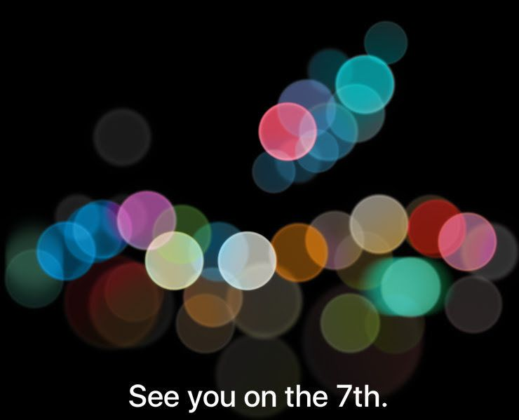 Apple's iPhone 7 Event Is Happening On September