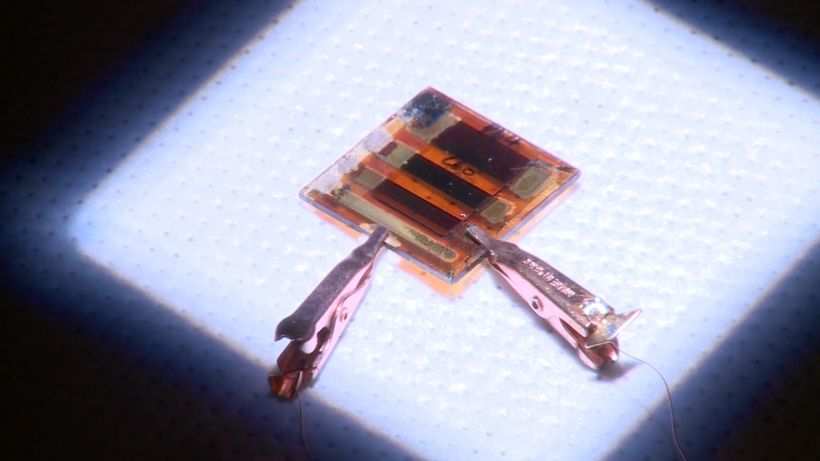 Hot-cast perovskite solar cells show promise for creating more efficient and affordable solar panels, LEDs, and lasers.