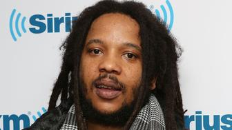 NEW YORK, NY - APRIL 22:  (EXCLUSIVE COVERAGE) Stephen Marley  visits at SiriusXM Studios on April 22, 2014 in New York City.  (Photo by Robin Marchant/Getty Images)