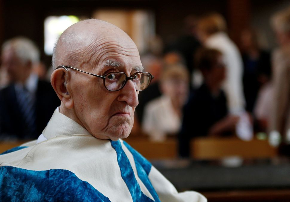 "Father Jacques Clemens, 107, is believed to be the <a href=""http://www.inc.com/peter-economy/want-a-long-life-the-world-s-old"