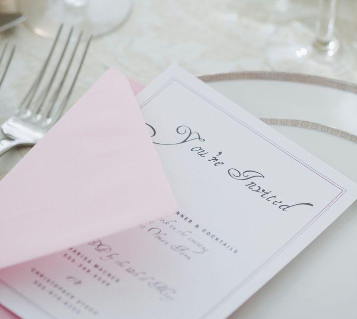 You have a few great options for multi-lingual wedding invitations.