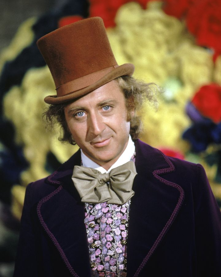 "Gene Wilder as Willy Wonka in ""Willy Wonka & the Chocolate Factory."""