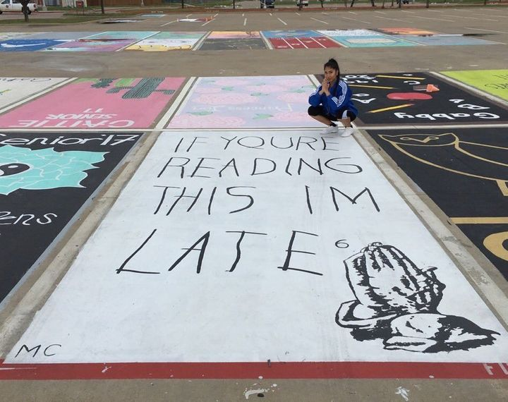 High School Seniors Are Having A LOT Of Fun With Their Parking Spots - Best flooring for seniors