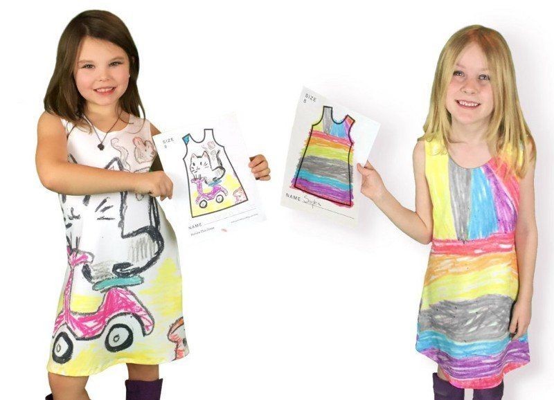 This new company is giving kids the chance to design their own clothes, and the results are super stylin'.