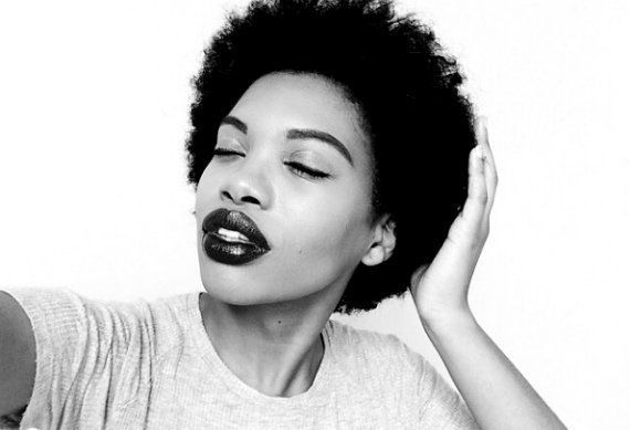 """Jasmine said #MyNaturalHairJourneyIs """"whom I was always meant to be. It is free from the terms and conditions as to what soci"""