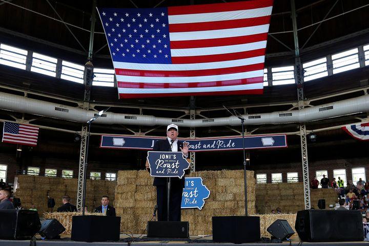 Iowa's demographics favor GOP nominee Donald Trump, but recent polls show him narrowly trailing Hillary Clinton.