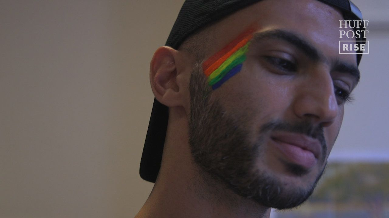 Joules is a Syrian refugee living in Amsterdam who just celebrated his first Gay Pride