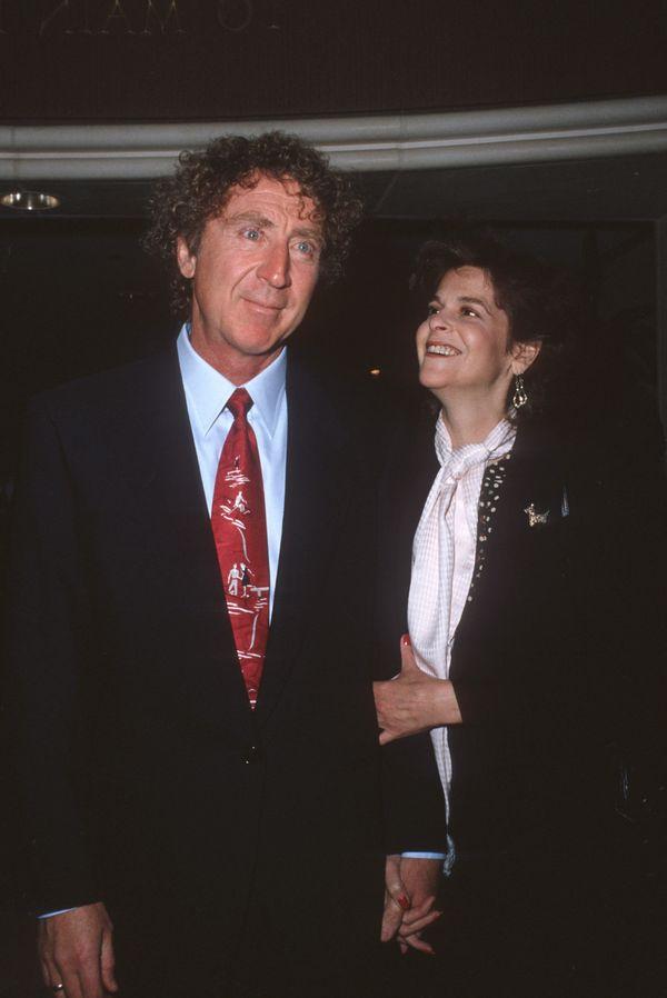 Gene Wilder and Gilda Radner.