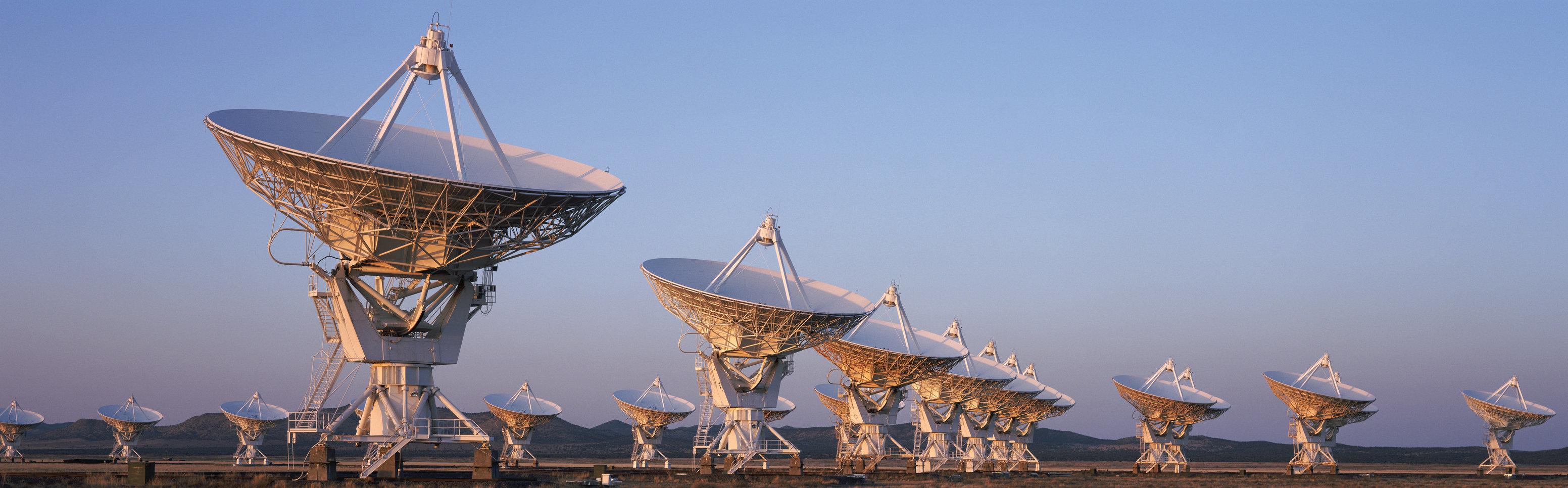 Very Large Array Radio Telescopes, New Mexico, USA