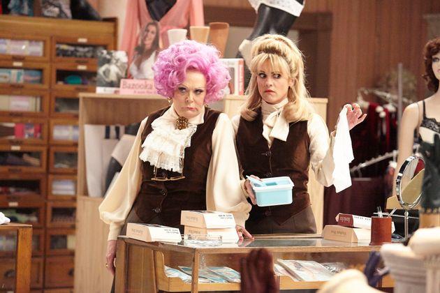 Sherrie Hewson starred as Mrs