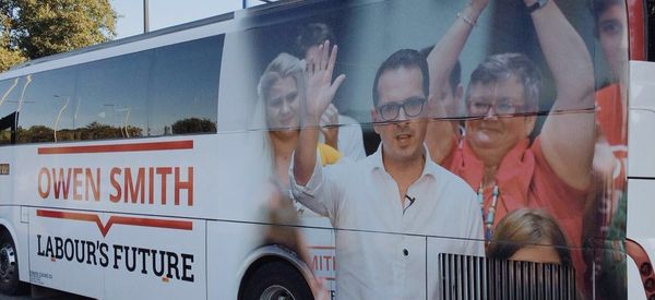 There's Something A Bit Wrong About Owen Smith's New Campaign Bus