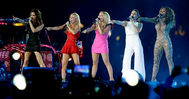 The Spice Girls reunited for the London 2012