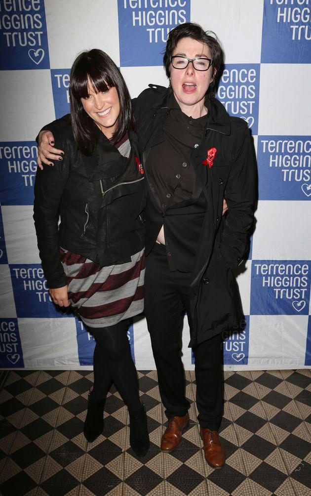 Anna with partner Sue