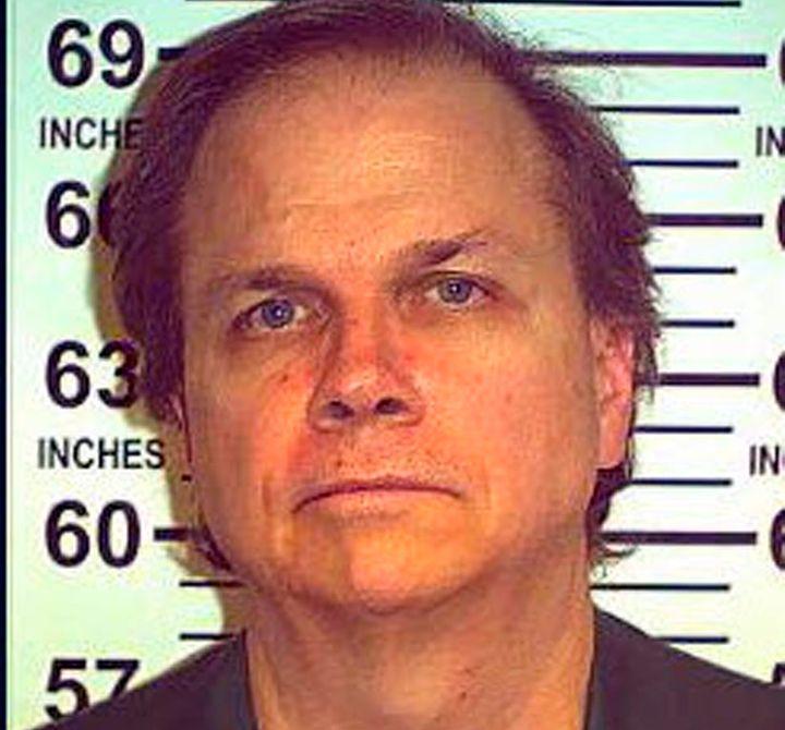 Mark David Chapman, the man who fatally shot former Beatle John Lennon in 1980, is seen in 2012. On Monday he was denied paro