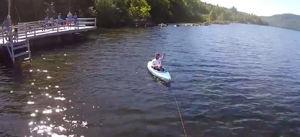 Forget Paddling, You Can Now Pilot A Kayak With A Drone