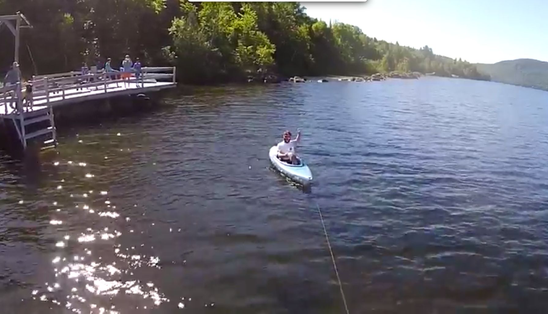 Forget Paddling, You Can Now Pilot A Kayak With A