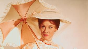 Julie Andrews starring as the title character in Mary Poppins.