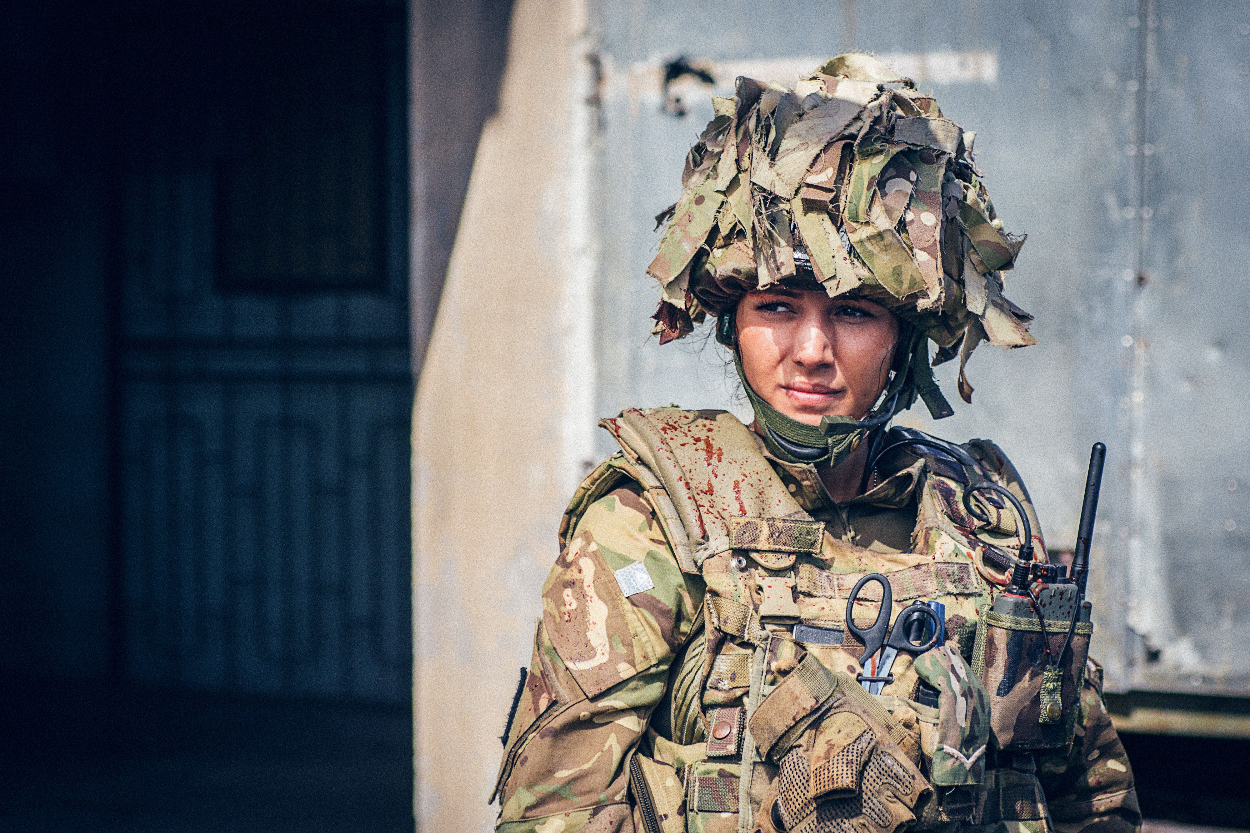 Michelle Keegan Discusses Doing Her Own 'Our Girl'