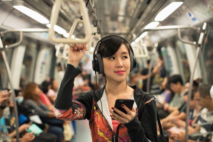 Wondering how to talk to a woman whos wearing headphones dont eternity in an instant via getty images ccuart Choice Image