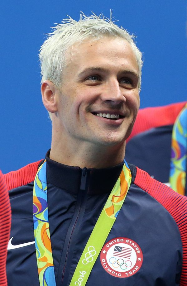 "The Olympic swimmer, <a href=""https://www.huffpost.com/entry/the-ryan-lochte-story-jus_b_11722232"">who's facing criticism&nbs"