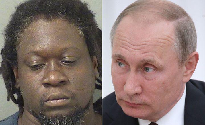 Putin meets Putin.