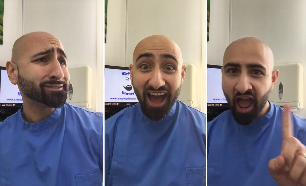 Sassy Singing Dentist Is Going Viral For His Hilarious Renditions Of Classic